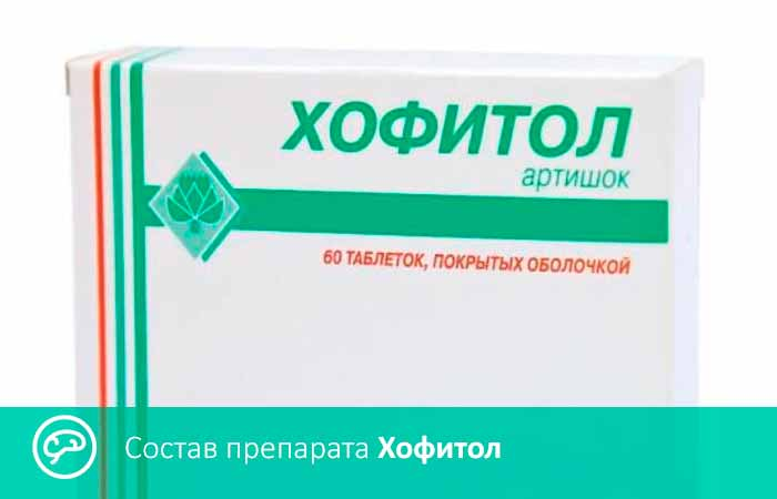Состав препарата хофитол