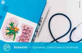 Холангит — причины, симптомы и лечение